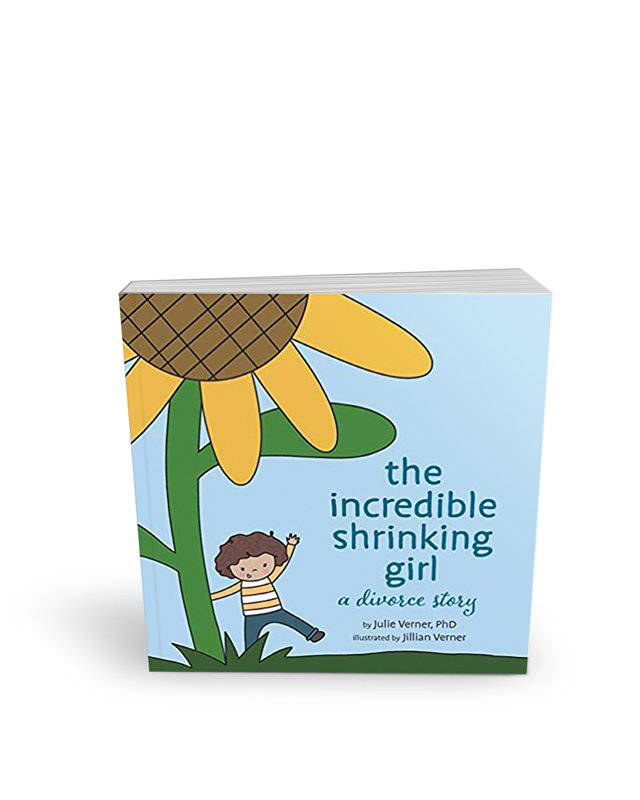 The Incredible Shrinking Girl, a Divorce Story by Julie Verner, PhD